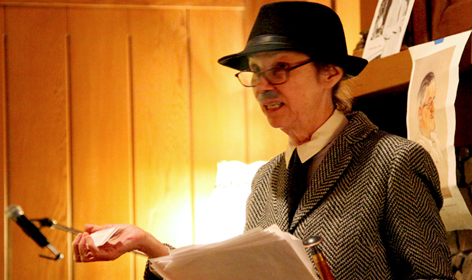 A James Joyce impersonator at the 2011 Tucson Bloomsday event. (Image: Mark Duggan)