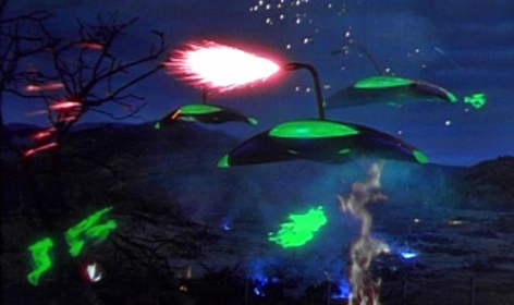 A scene from the 1953 film version of War Of The Worlds.
