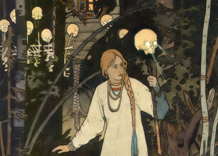 Vasilisa and Baba Yaga
