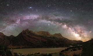 The Dark Skies of Dinosaur National Monument