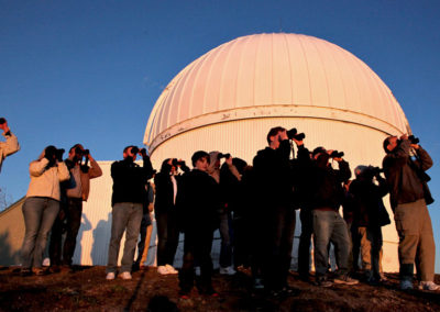 Viewing program on Mount Lemmon