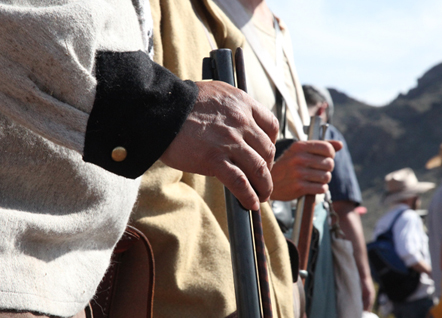 Re-enacting the Civil War in the Southwest