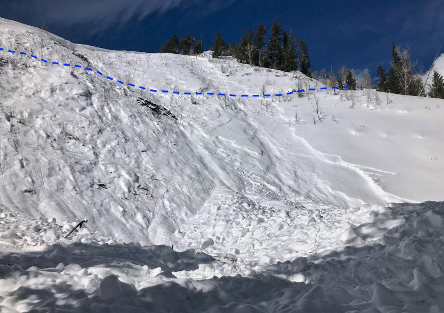 Pearl Pass Avalanche
