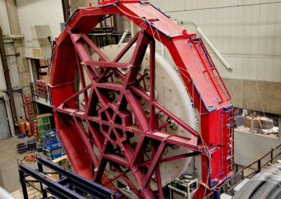 Giant Magellan Telescope mirror after casting