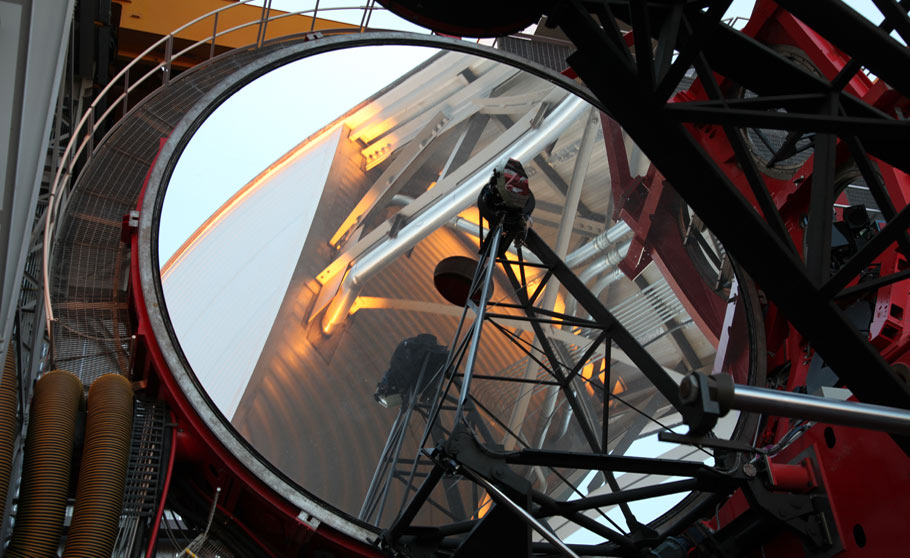 Large Binocular Telescope mirror