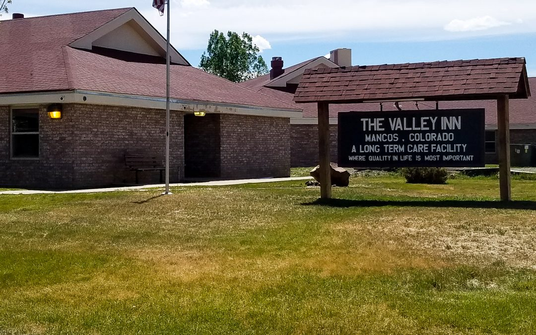 Valley Inn sign Mancos Colorado