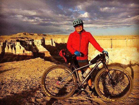 Jon Yazzie Dzil Ta'ah Adventures bikepacking