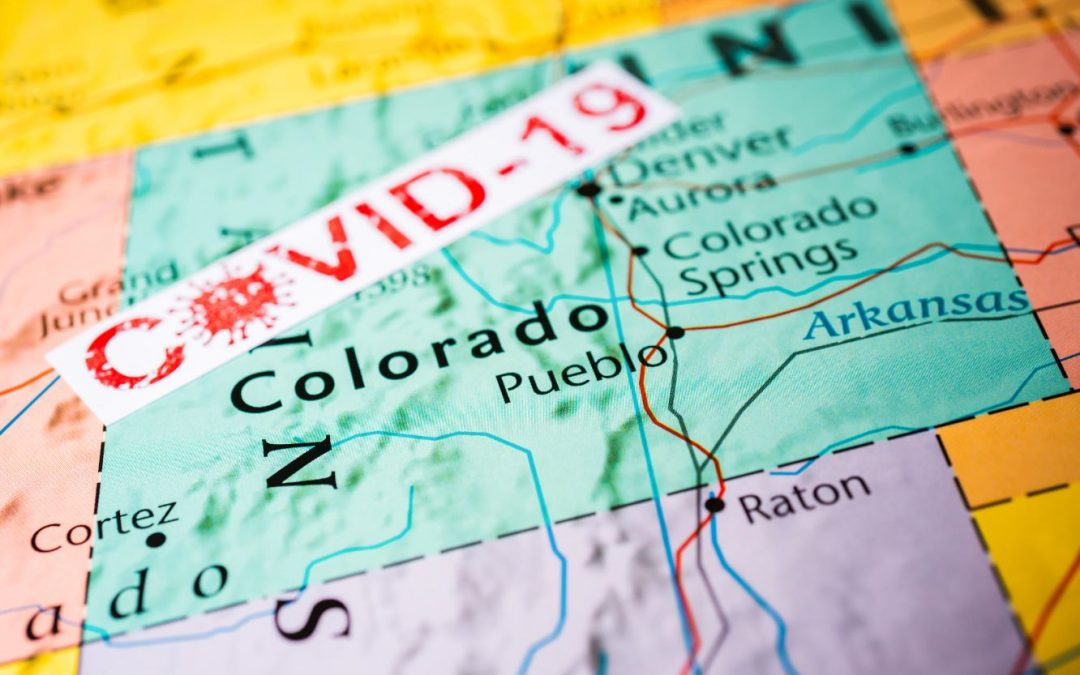 COVID-19 Case Counts in Colorado and the Four Corners: By the Numbers