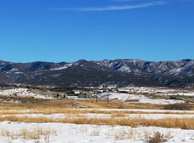 HD Mountains and natural gas compressor station